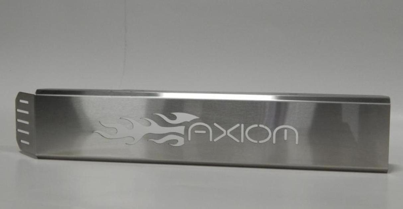 Axiom-EXHAUST COVER (Flames)-Polaris,RZR XP Turbo