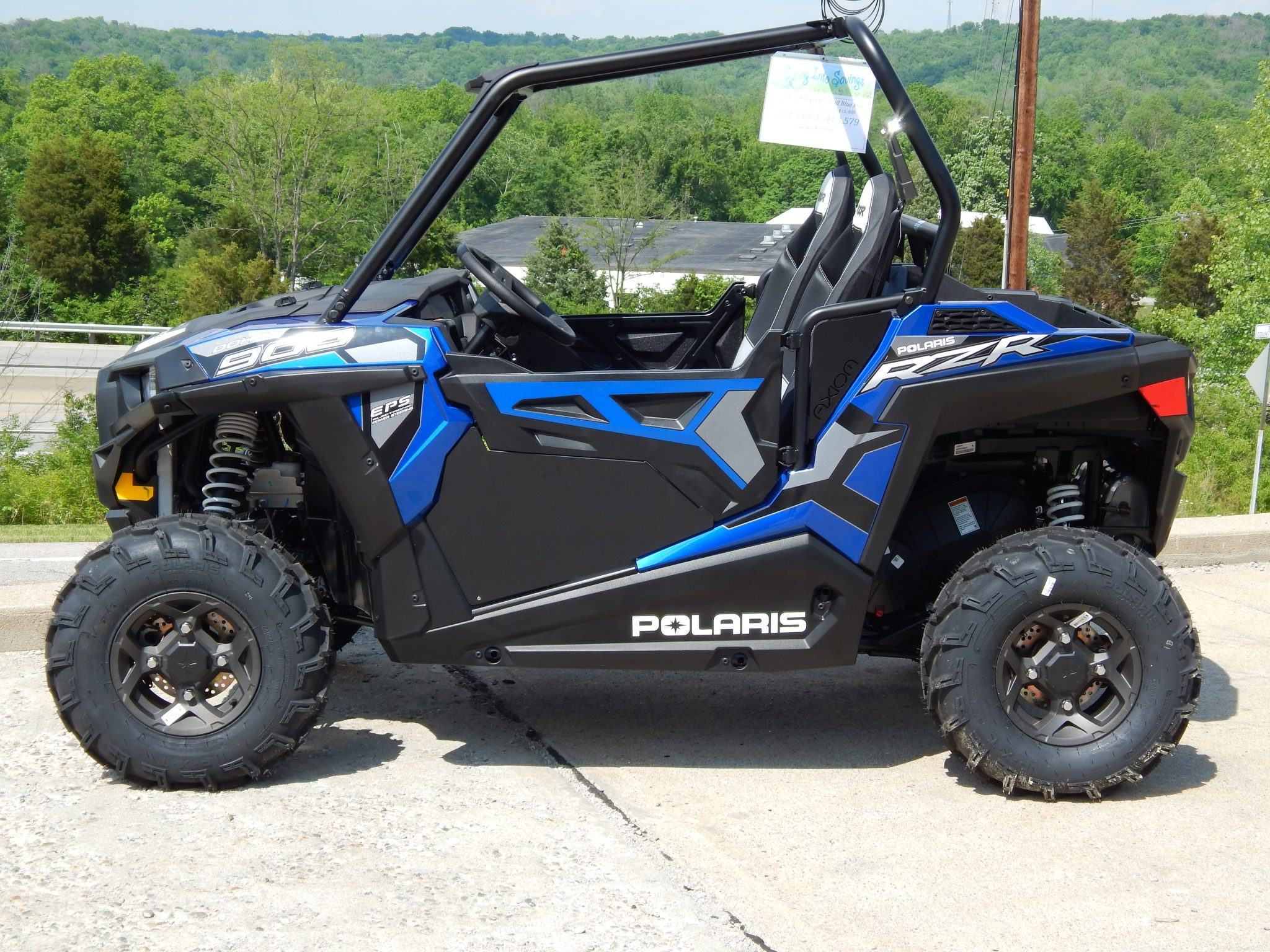 Axiom Side By Side RZR 900 Trail Lower Doors