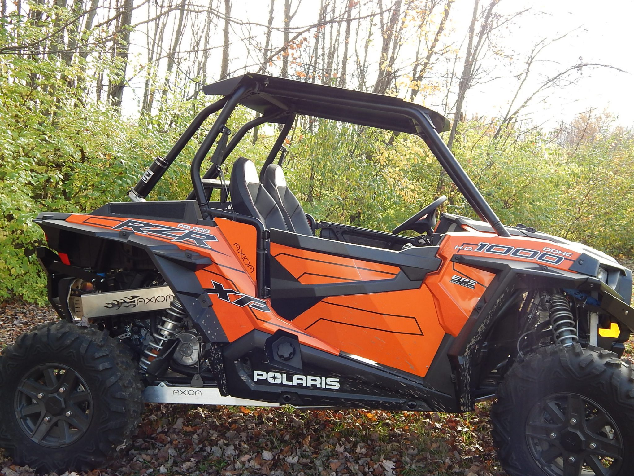Axiom Roof Low Boy 2 Seater Polaris Rzr Xp Turbo
