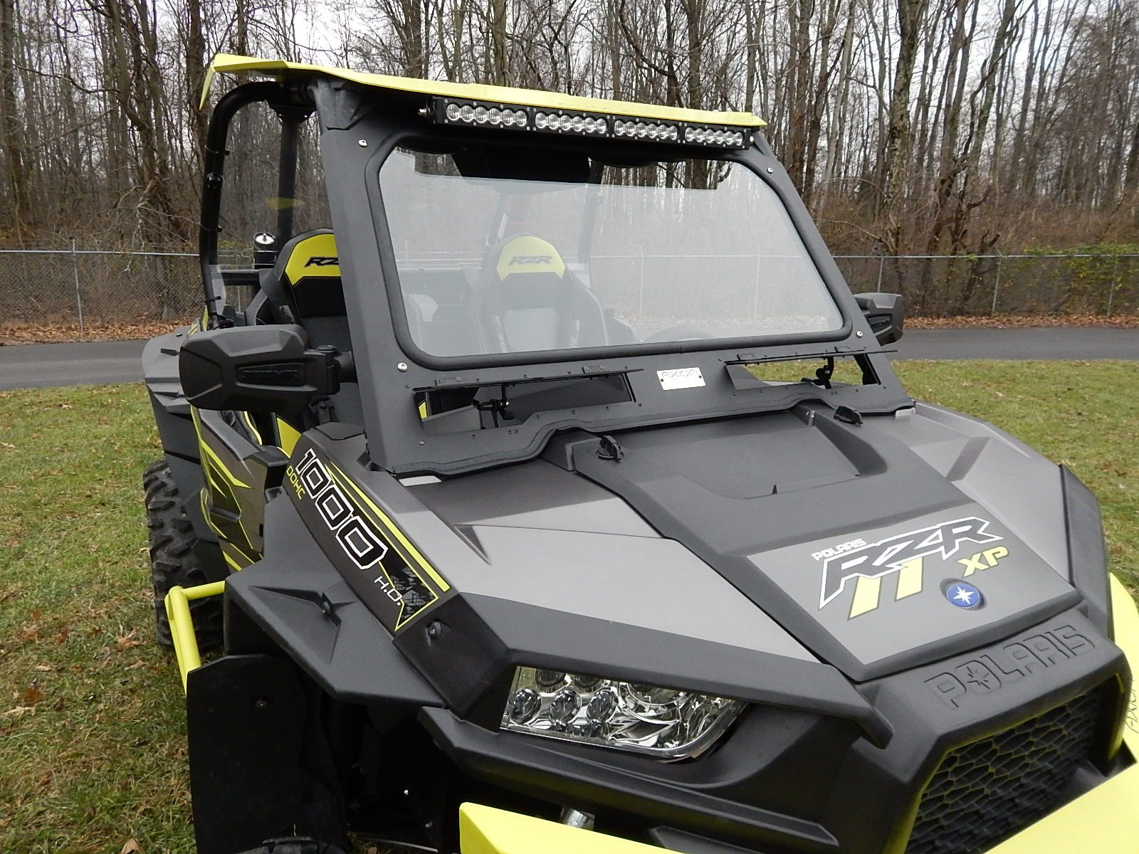 Axiom Front Windshield Polaris Rzr Xp Turbo Axiom Side