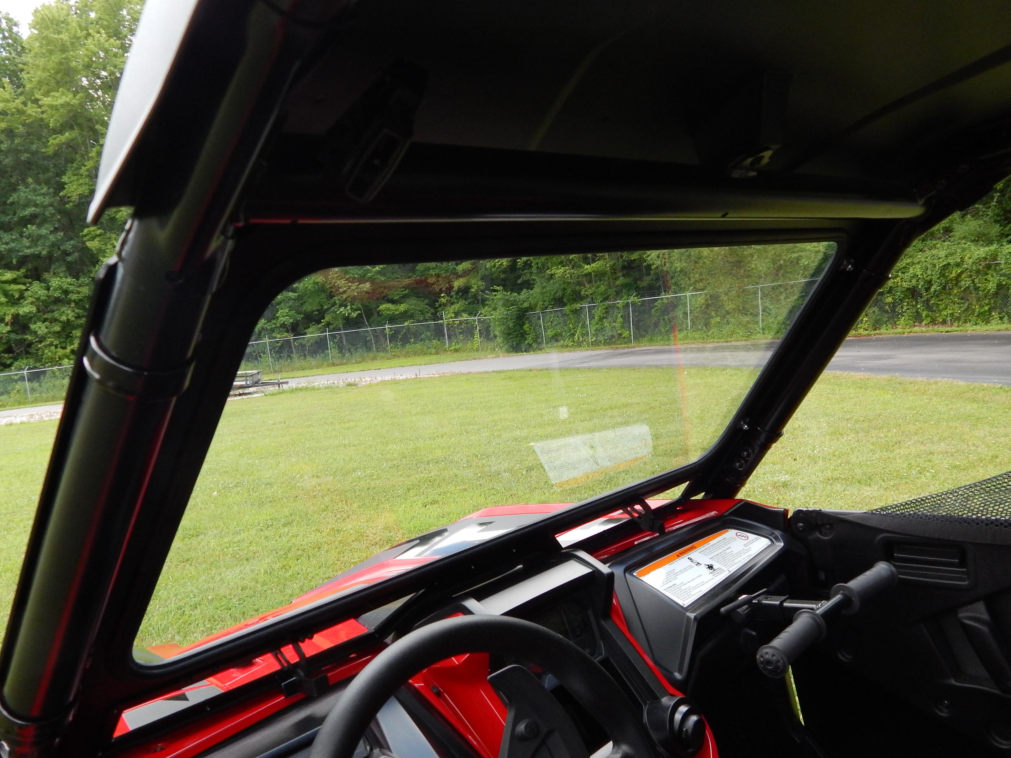 Honda Talon 1000x Vented Glass Windshield Axiom Side By