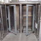Large_Aluminum_Double_Door_Cabinet3_Laser_Cutting_Saw_Cutting_Machining_Forming_Welding_Assembly