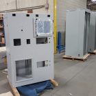Steel_Enclosure_Powder_Coated_Laser_Cutting_Saw_Cutting_Forming_Machining_Welding_Assembly